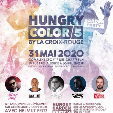 Inscription Hungry Color et Hungry Garden Party – Longuenesse – 2020